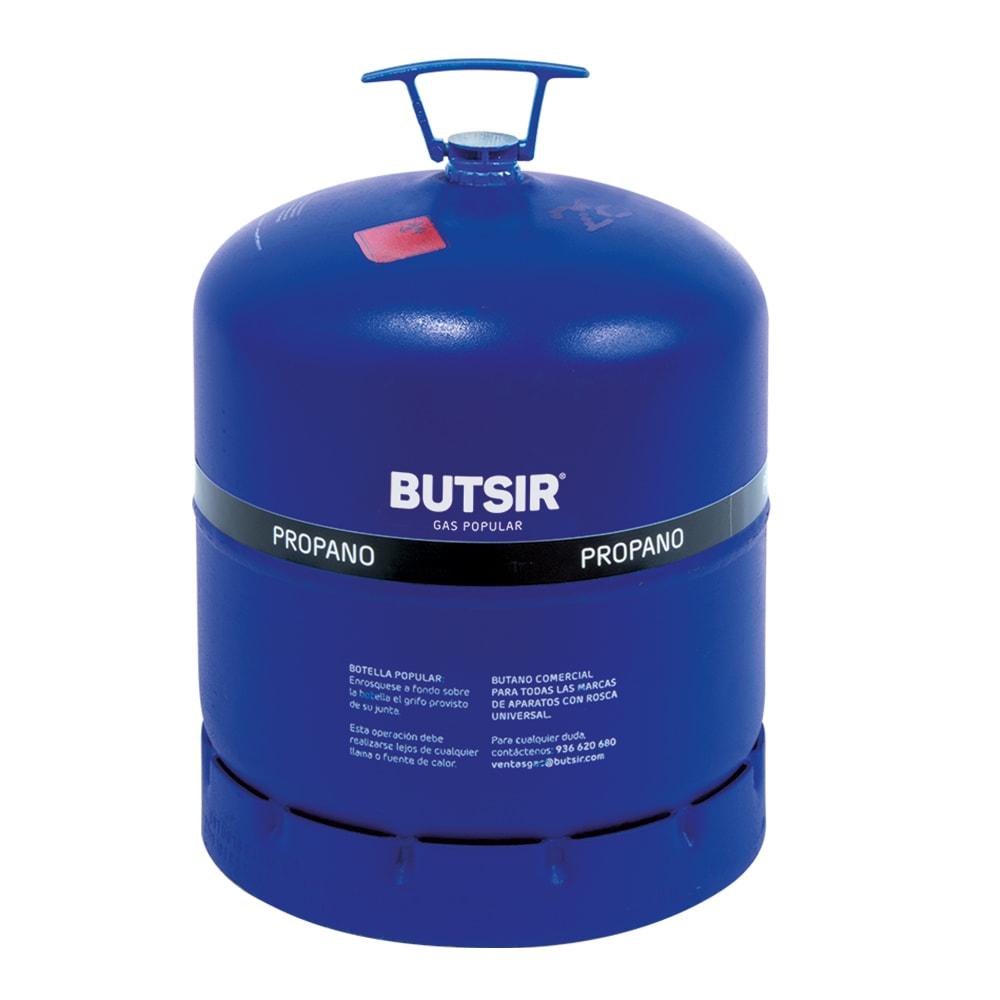 BOTELLA GAS PROPANO BUTSIR AZUL ROSCA UNIVERSAL 2,5 kg